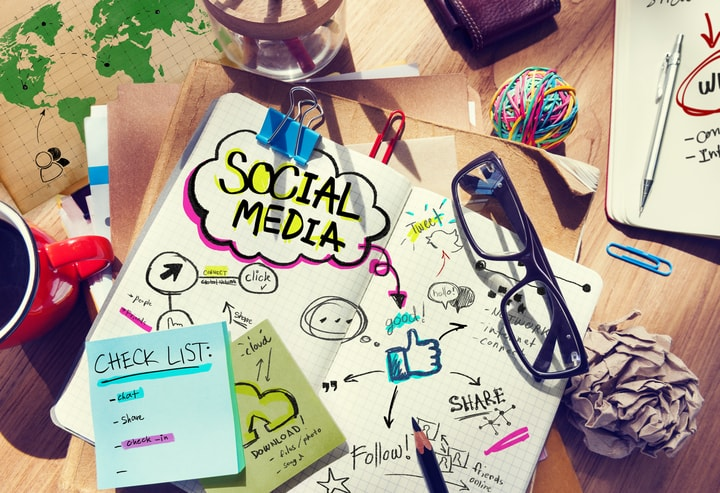 Social media management services in Kent
